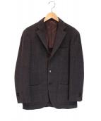 RING JACKET(リングジャケット)の古着「ウール3Bジャケット」|ブラウン