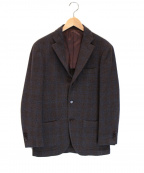 RING JACKET(リングジャケット)の古着「ウール3Bジャケット」 ブラウン