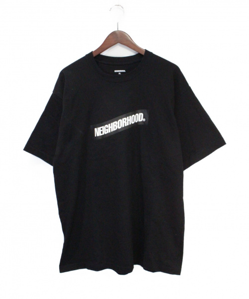 NEIGHBORHOOD(ネイバーフッド)NEIGHBORHOOD (ネイバーフッド) プリントTシャツ ブラック サイズ:XLの古着・服飾アイテム