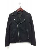 TATRAS×VANSON(タトラス×バンソン)の古着「ライダースジャケット」|ブラック
