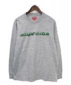 Supreme(シュプリーム)の古着「長袖Tシャツ」|グレー