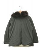 ()の古着「リバーシブルダウンジャケット」|オリーブ