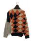 KOLOR (カラー) Argyle Turtle Knit サイズ:2:27800円