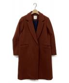 UNITED TOKYO(ユナイテッドトウキョウ)の古着「カシミヤ混チェスターコート」|ブラウン