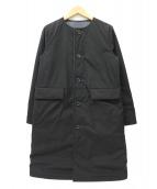 MACKINTOSH PHILOSOPHY(マッキントッシュフィロソフィー)の古着「ウールサキソニーリバーシブルコート」|ブラック