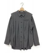 ()の古着「Tack Shirt 」|グレー