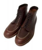 ()の古着「Blucher Boots」 ブラウン