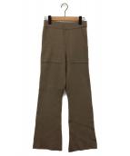 Spick and Span(スピックアンドスパン)の古着「ボイルスムースポケットパンツ」|ブラウン