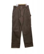 CarHartt(カーハート)の古着「ペインターパンツ」|ブラウン