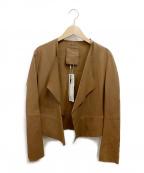 Rawtus(ロゥタス)の古着「レザージャケット」 ブラウン