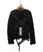 Rawtus(ロゥタス)の古着「レザージャケット」 ブラック