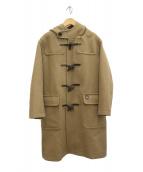 ORCIVAL(オーシバル)の古着「ジーロンラムメルトンロングダッフルコート」|ベージュ
