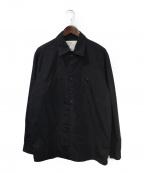 A-COLD-WALL(ア コールド ウォール)の古着「スナップボタンシャツ」 ブラック