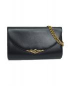 Cartier(カルティエ)の古着「チェーンショルダーバッグ」|ブラック