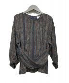 mylanka(ミランカ)の古着「ブラウス」|ブラック