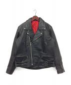 freedom(フリーダム)の古着「ライダースジャケット」|ブラック