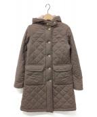 ()の古着「キルティングコート」|ブラウン