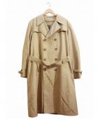 Christian Dior MONSIEUR(クリスチャンディオールムッシュ)の古着「[OLD]ライナー付トレンチコート」|ベージュ