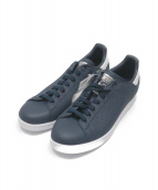 adidas(アディダス)の古着「スタンスミス スニーカー」 ネイビー