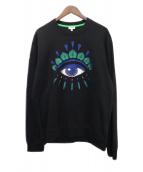 KENZO(ケンゾー)の古着「Eye Sweatshirt」|ブラック