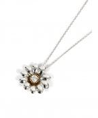THE LAZARE DIAMOND(ラザールダイヤモンド)の古着「フラワーモチーフネックレス」