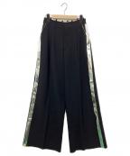 DIESEL(ディーゼル)の古着「ワイドパンツ」 ブラック