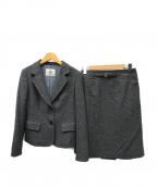 OLD ENGLAND(オールドイングランド)の古着「ウールセットアップスーツ」 グレー