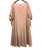 Sybilla(シビラ)の古着「袖リボンワンピース」 ピンク