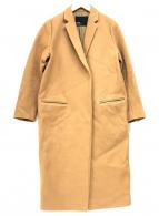 ()の古着「チェスターコート」|キャメル