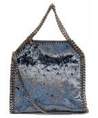 ()の古着「ファラベラタイニーミニトート2WAYバッグ」|ブルー
