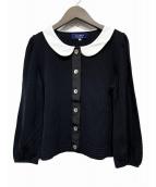 MS GRACY(エムズグレイシー)の古着「カーディガン」|ブラック