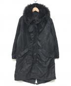 ALPHA(アルファ)の古着「モッズコート」|ブラック