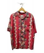 ()の古着「アロハシャツ」|ピンク