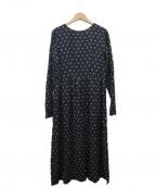 STEVEN ALAN()の古着「FLOWER PRINT DRESS」|ブラック