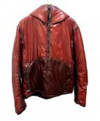 C.P COMPANY(シーピーカンパニー)の古着「リップトッププリマロフトフードジャケット」|レッド
