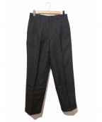COMME des GARCONS HOMME DEUX()の古着「[OLD]2タックワイドスラックスパンツ」 ブラック