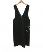 To b. by agnes b.(トゥービーバイアニエスベー)の古着「ジャンパースカート」|ブラック