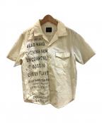 GLAD HAND(グラッドハンド)の古着「半袖シャツ」 ベージュ