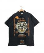 WEIRDO(ウィアード)の古着「プルオーバーシャツ」|ネイビー