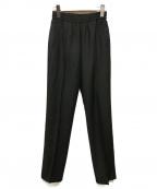 AP STUDIO(エーピーストゥディオ)の古着「W/Pトラックパンツ」|ブラック