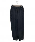 PLAIN PEOPLE(プレインピープル)の古着「イージーパンツ」|ブラック