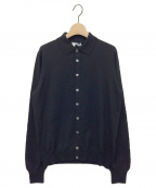 GRAN SASSO(グランサッソ)の古着「ニットカーディガン」|ブラック