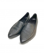 ECCO(エコー)の古着「Shape Pointy Ballerina II」 ブラック