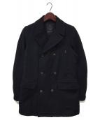 WOOLRICH(ウールリッチ)の古着「Pコート」|ネイビー
