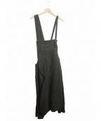 Y'S YOHJI YAMAMOTO(ワイズ ヨウジヤマモト)の古着「サルエルショートサロペット」 ブラック