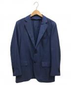 TOMORROW LAND PILGRIM(トゥモローランド ピルグリム)の古着「Super170sウールシルク2Bジャケット」|ネイビー