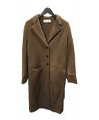 ()の古着「チェスターコート」|ブラウン