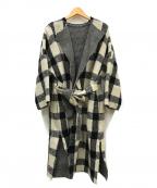 Demi-Luxe Beams(デミルクス ビームス)の古着「ボリュームチェックコート」