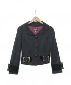 D&G(ドルチェ&ガッバーナ)の古着「ジャケット」|ブラック