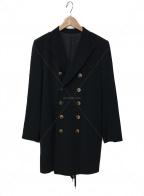 Jean Paul Gaultier FEMME(ジャンポールゴルチェ フェム)の古着「ダブルジャケット」|ブラック